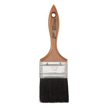 "Ateco 2 1/2"" Black Flat Pastry Brush. 6 units at £4.27 per unit."