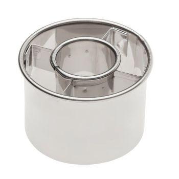 """Ateco 2 1/2"""" Doughnut Cutter (Box of 12). 6 units at £1.42 per unit."""