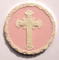 Patchwork Cutters Large Cross / Lace Set