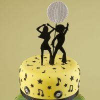 Patchwork Cutters Disco Dancers (Silhouette)