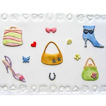 Patchwork Cutters Shoes, Bags and Confetti