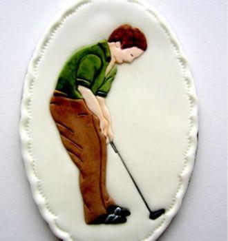 Patchwork Cutters Golfer