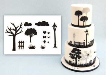 Patchwork Cutters Countryside Silhouette Set