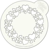Artistic Flair Circle of Love Cake Top, MOQ 4 units, Price per Unit £3.61