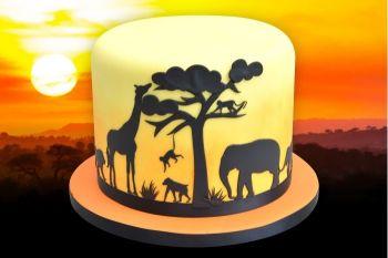 Patchwork Cutters Safari Silhouette Set