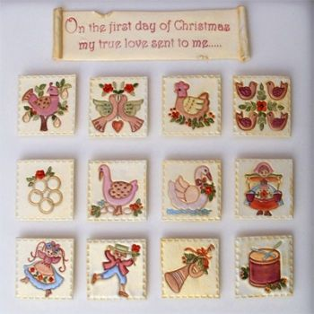 Patchwork Cutters 12 Days of Christmas