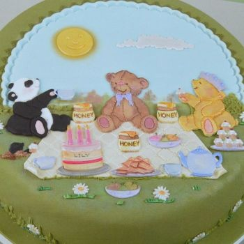 Patchwork Cutters Teddy Bears Picnic