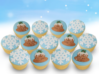Patchwork Cutters Christmas Cupcake Pack