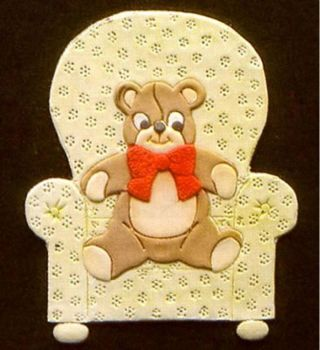 Patchwork Cutters Teddy