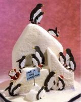Patchwork Cutters Penguin Set