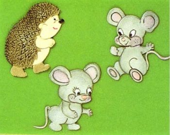 Patchwork Cutters Mice & Hedgehog