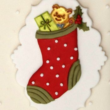 Patchwork Cutters Christmas Stocking