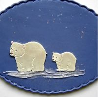 Patchwork Cutters Polar Bear