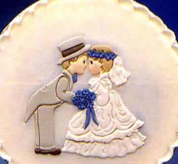 Patchwork Cutters Bride & Groom