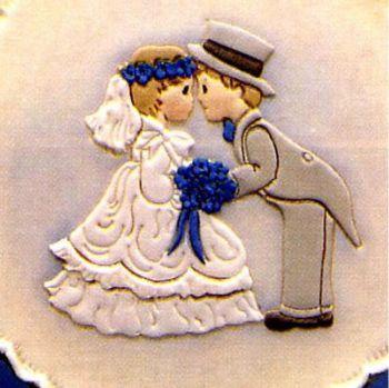Patchwork Cutters Reverse Bride & Groom