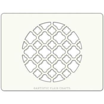 Artistic Flair Elegant Lattice Round, MOQ 4 units, Price per Unit £0.90