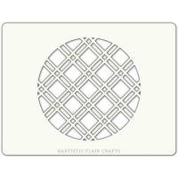 Artistic Flair Diamond Check Round, MOQ 4 units, Price per Unit £0.90