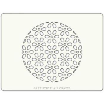 Artistic Flair Daisy Background Round, MOQ 4 units, Price per Unit £0.90