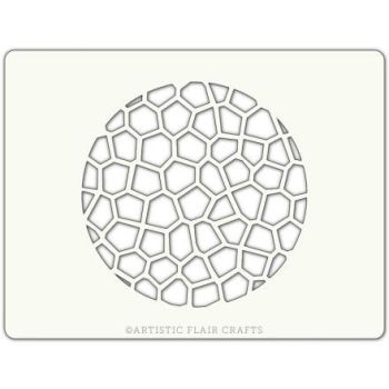 Artistic Flair Crackle Texture Round, MOQ 4 units, Price per Unit £0.90