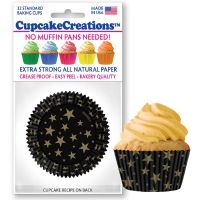 Cupcakes Creations Stars Cupcake Cases, 32 Pieces Per Pack @ £2.08 per pack. 12 Packs Per Carton = £ 21.72