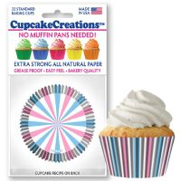 Cupcakes Creations Reveal Cupcake Cases, 32 Pieces Per Pack @ £2.08 per pack. 12 Packs Per Carton = £ 21.72