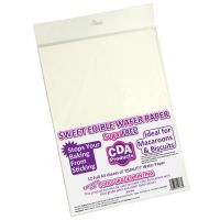 CDA Wafer Paper Edible A4 Wafer Paper (12 pack)
