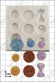 FPC Sugarcraft Antique Buttons