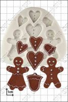 FPC Sugarcraft Gingerbread People