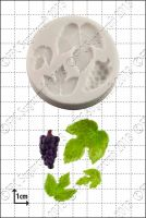 FPC Sugarcraft Grape & Vine Leaves