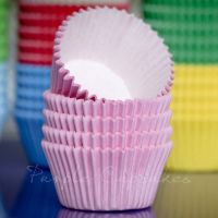 Purple Cupcakes Cupcake Cases Solid Colour x 60 - Baby Pink, MOQ 6 boxes,, £1.31 per box of 60