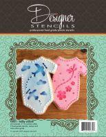 Designer Stencils Baby Onesie Cookie Cutter and Stencil Set by Designer Stencils