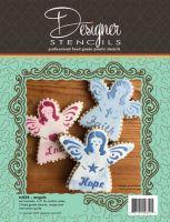 Designer Stencils Angel Cookie Cutter and Stencil Set by Designer Stencils