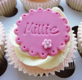 Purple Cupcakes Stamps - Alphabet Large, MOQ 8, £5.40 per unit