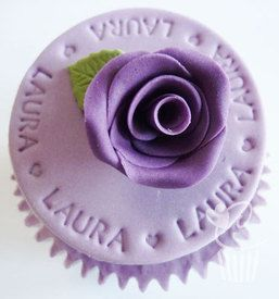 Purple Cupcakes Stamps - Alphabet Small, MOQ 8, £4.23 per unit