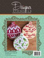 Designer Stencils Ball Ornament Cookie Cutter And Stencil Set by Designer Stencils