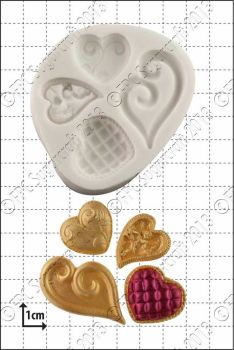 FPC Sugarcraft Fancy Hearts
