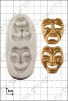 FPC Sugarcraft Comedy and Tragedy Masks