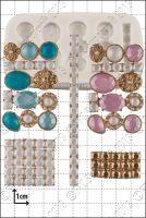 FPC Sugarcraft Jewel Clusters