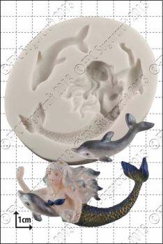 FPC Sugarcraft Mermaid & Dolphin