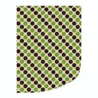 Leman's Transfer green and black dots 35 x 25 cm : 25 Pieces per box