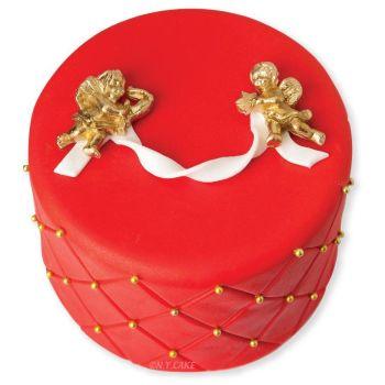 N Y Cake Quilted Design