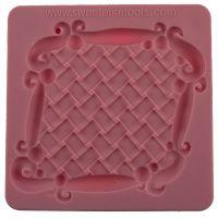 Sweet Elite Tools Basketweave Plaque Silicone Mold, Minimum order 3 units, £4.08 Per unit.