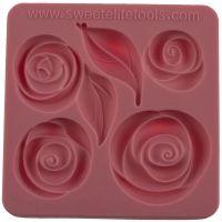 Sweet Elite Tools Pouf Rose Set Silicone Mold, Minimum order 3 units, £5.36 Per unit.