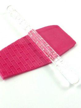 Dekofee Embossing Rolling Pin Bricks (12mm x 160mm)