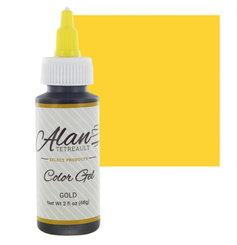 Global Sugar Art  Gold Premium Food Color Gel, 2 Ounces by Chef Alan Tetreault