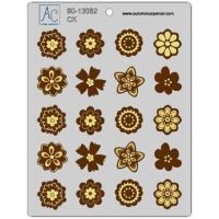 Autumn Carpenter Cutters Flower Fun Candy Mint Mold, Minimum order 6 units at £0.81 Per Unit.