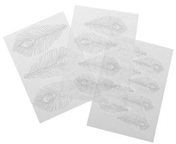 Autumn Carpenter Cutters Feather Texture Sheet Set Minimum order 3 units at £2.39 Per Unit.
