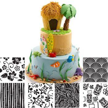Autumn Carpenter Cutters Hawaiian Texture Sheet Set of 6 Minimum order 3 units at £6.09 Per Unit.