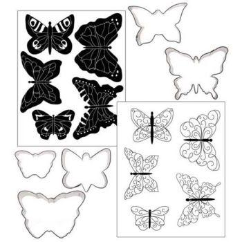 Autumn Carpenter Cutters Butterfly Texture Set Minimum order 3 units at £4.37 Per Unit.