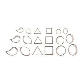 Autumn Carpenter Cutters Mini Accent Cutter Set of 18, Minimum order 4 units at £4.06 Per Unit.